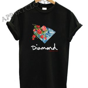 Diamond Supply Painted Floral Shirts
