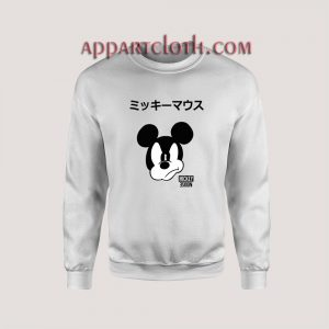 Disney Mickey Mouse Japanese Unisex Sweatshirts