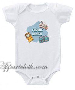 Future Gamer Funny Baby Onesie