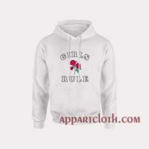 Girls Rule Roses Hoodies
