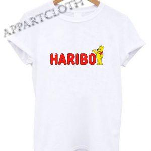 Haribo Gummy Bears Candy Shirts