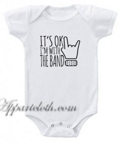 I'm with the Band Funny Baby Onesie