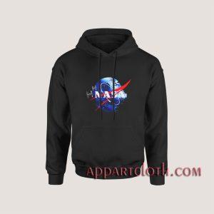 Nasa death star Hoodies