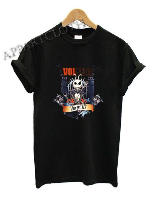 Volbeat Skellington halloween Shirts