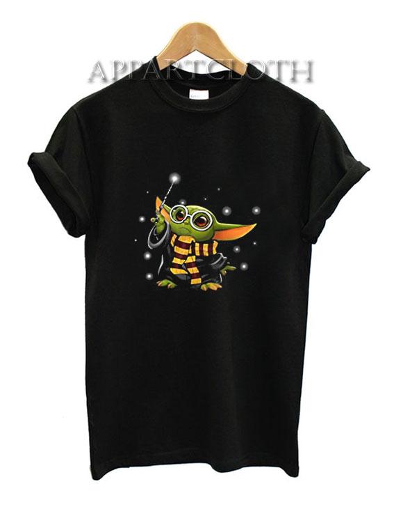 Baby Yoda Harry Potter Shirts