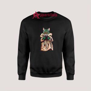Baby Yoda Kitty Sweatshirts