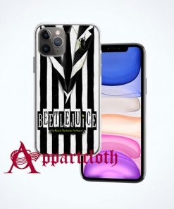 Beetlejuice Musical Costume iPhone Case Cover