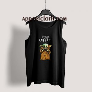 But First Baby Coffee Tank Top