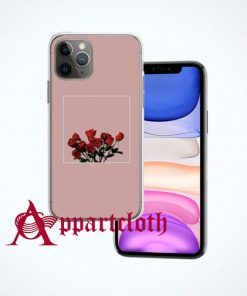 Cool Red Rose Aesthetic iPhone Case Cover