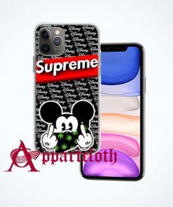 Disney Mickey Supreme iPhone Case Cover