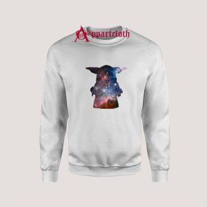 Galaxy Baby Yoda Sweatshirts
