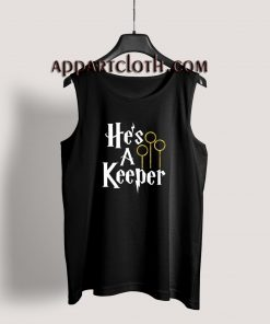 He's a Keeper Harry Potter Tank Top