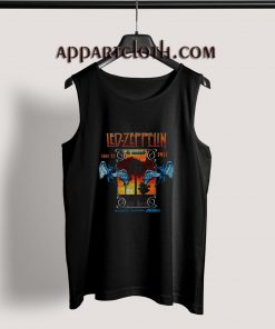 Led Zeppelin In Concert Inglewood California Tank Top