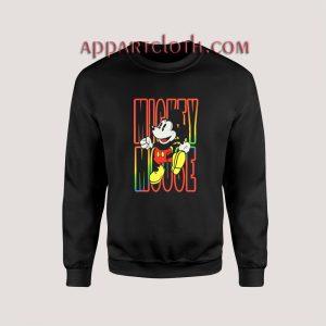 Mickey Mouse Neon Sweatshirts