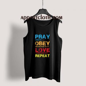 Pray Obey Love Repeat Tank Top