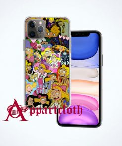 Queen Of Rad Girl Collage iPhone Case Cover