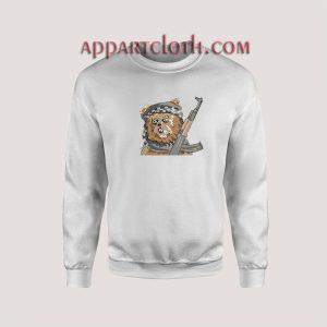 Scary Warrior Sweatshirts