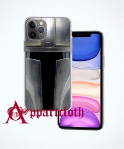 The Mandalorian Star Wars Helmet iPhone Case Cover