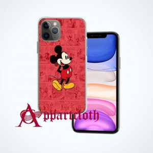 Vintage Mickey Poster iPhone Case Cover