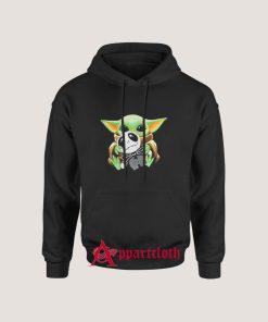 Yoda Hug Jack Skellington Hoodies