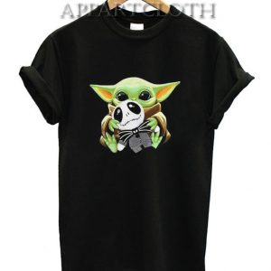 Yoda Hug Jack Skellington Shirts