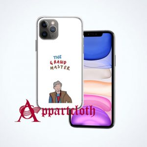 Displeased grandmaster with words! iPhone Case Cover
