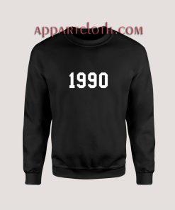 Birthday Made In Year Numbers Sweatshirt