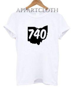 740 Area Code Ohio T-Shirt