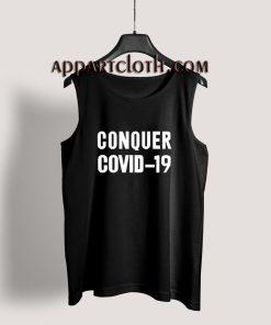 Conquer Covid-19 Coronavirus Tank Top