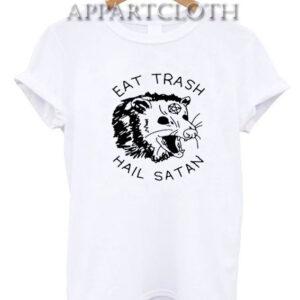 Eat Trash Hail Satan Possum T-Shirt