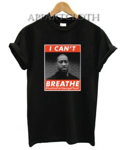 George Floyd Please I Can't Breathe T-Shirt