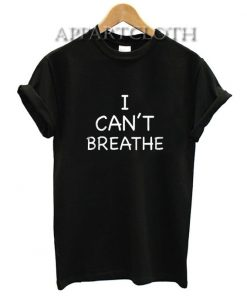 I Can't Breathe George Floyd T-Shirt