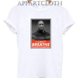 Please I Can't Breathe George Floyd T-Shirt