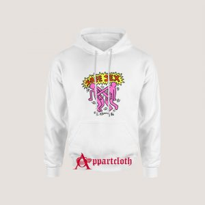 Safe Sex Keith Haring 86 Harry Styles Hoodie
