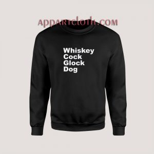 Whiskey Cock Glock Dog Sweatshirt