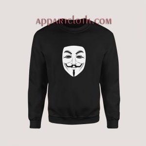 Anonymous Mask Sweatshirt