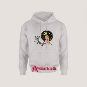 Black Girl Magic Lady Woman With Crown Hoodie Size S, M, L, XL, 2L, 3XL