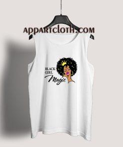 Black Girl Magic Lady Woman With Crown Tank Top