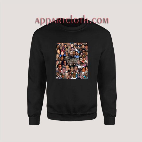 Black Live Matter All Sweatshirt for Unisex