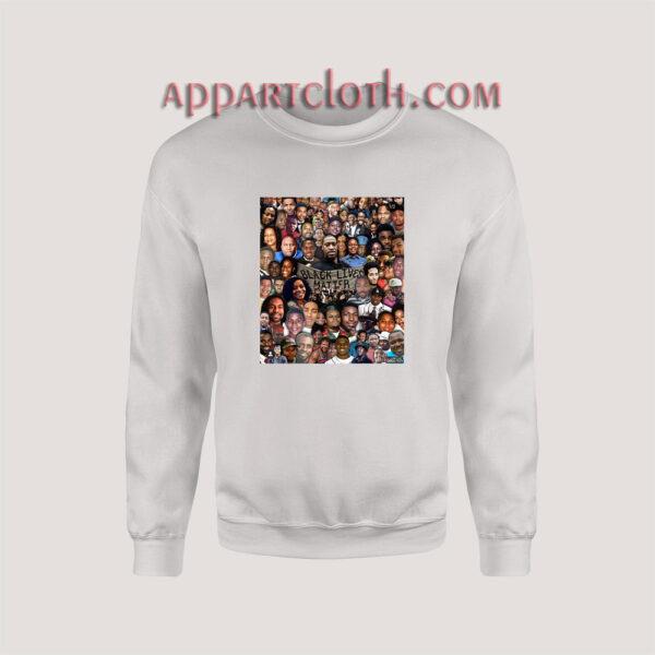 Black Live Matter All Sweatshirt for Women's or Men's Size S, M, L, XL, 2XL, 3XL