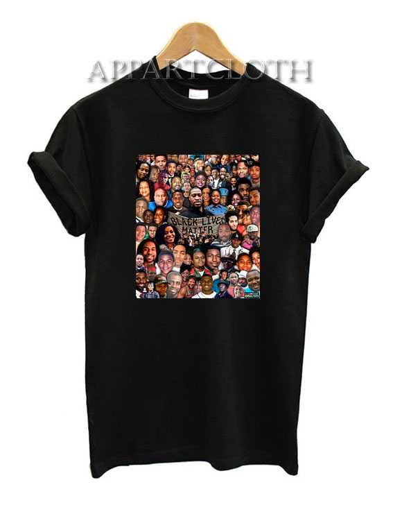 Black Live Matter All T-Shirt for Unisex