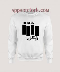 Black Lives Matter Black Flag Parody Sweatshirt