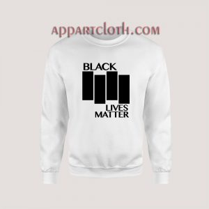 Black Lives Matter Black Flag Parody Sweatshirt