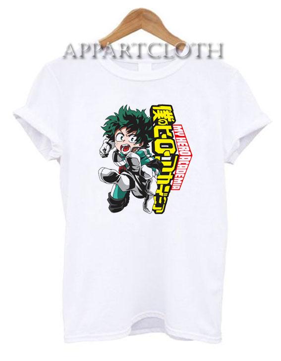 Boku No Hero My Hero Academia Deku T-Shirt