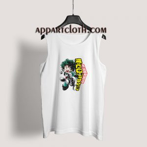 Boku No Hero My Hero Academia Deku Tank Top