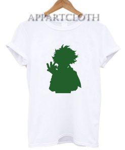 Deku Silhouette My Hero Academia T-Shirt