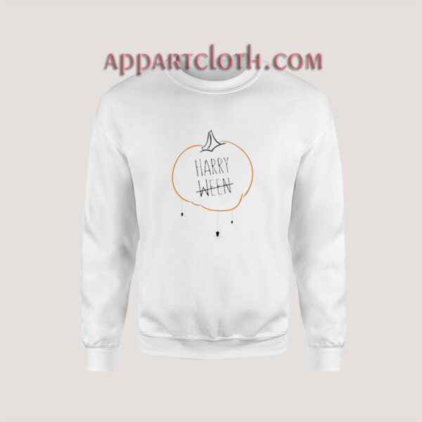 Harry Styles Harryween Halloween Pumpkin Sweatshirt for Unisex