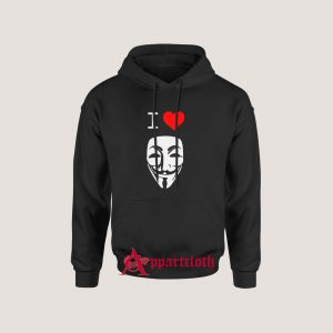 I Love Anonymous Hoodie
