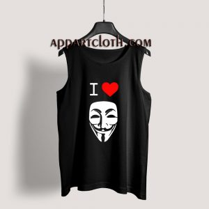 I Love Anonymous Tank Top