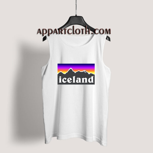 Iceland Tank Top for Unisex